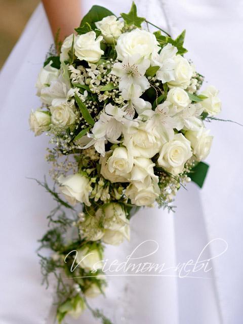 Prípravy na svadbičku - takúto podobnú..ruže určite