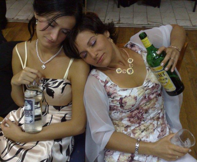 Zábava bola vyčerpavajúca...