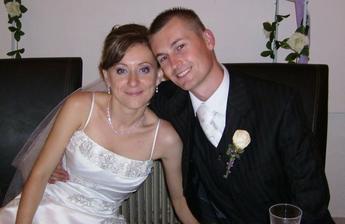 Šťastní novomanželia :)