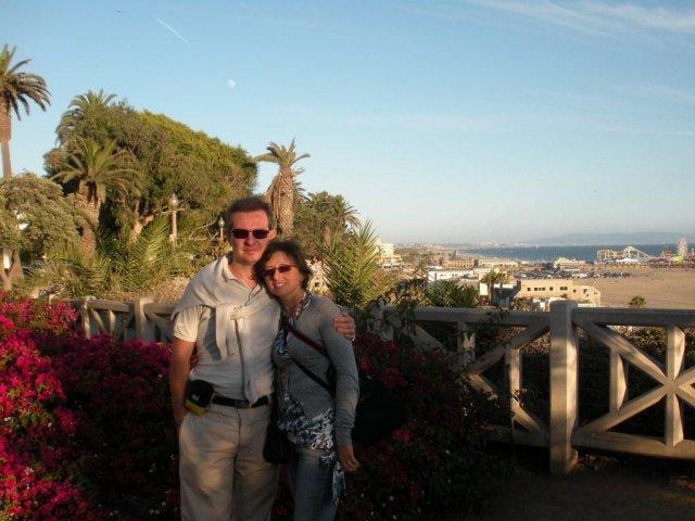 Ľuboslava{{_AND_}}Daniele - Pri zapade slnka v Santa Monica