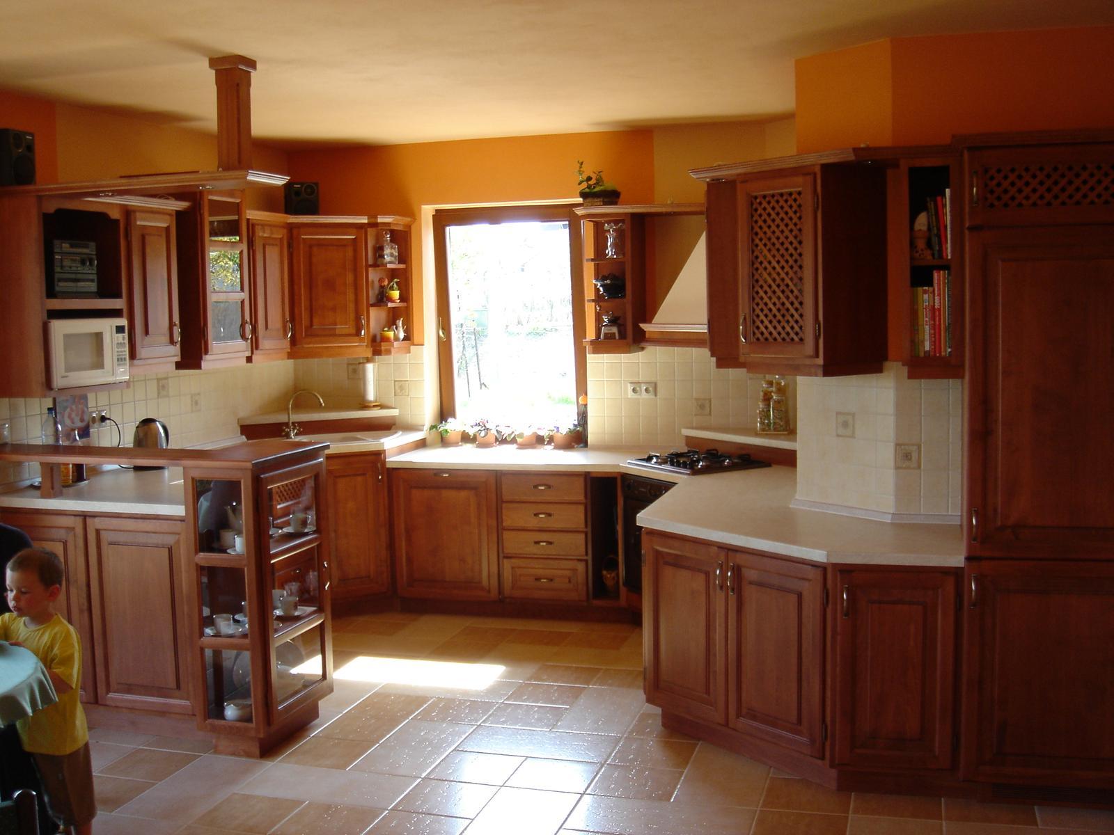 Rustikálne kuchynské linky a rustikálny nábytok - Obrázok č. 5