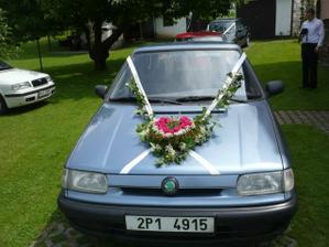 auto pro ženicha - domácí výroba