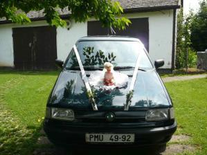 auto pro nevěstu - domácí výroba