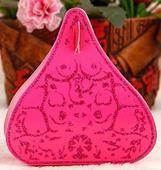 Krabičky na mandle - candy box - růžová fuchsiová,