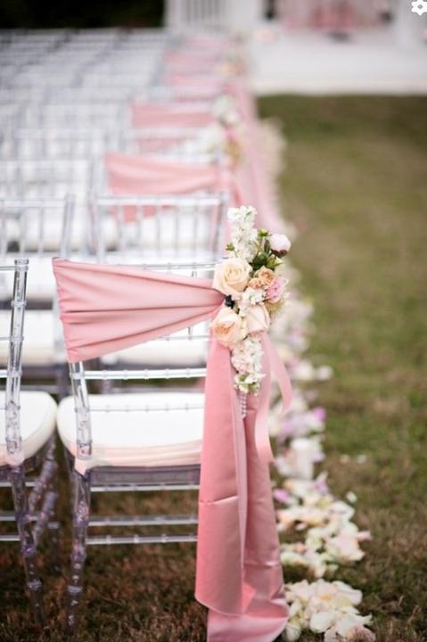 Moje ružové predstavy :) - Na stoličky ale do sály asi :)