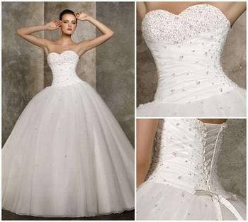 Moje ružové predstavy :) - http://www.aliexpress.com/item/Cheap-Price-2014-New-Free-Shipping-A-Line-Sweetheart-Beading-White-Ivory-Wedding-Dresses-OW-2039/1553415729.html