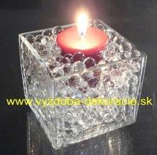 Vodné guličky aj v ružovom aj v bielom objednané :) http://www.vyzdoba-dekoracie.sk/dekoracie/eshop/