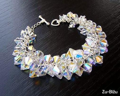 Moje ružové predstavy :) - Nááádherný náhrdelnik :) cena: 70 eur :/