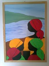 - akryl na plátne - 50x70 cm