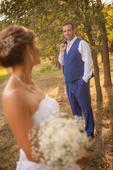 Pánský svatební oblek šitý na míru, s vestičkou, 52