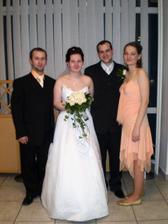 sestra so snúbencom