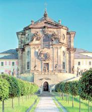 Čelní pohled na vchod do zámku
