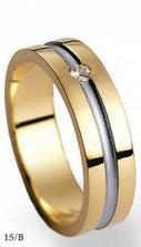 Další varianta vysněného snubního prstenu