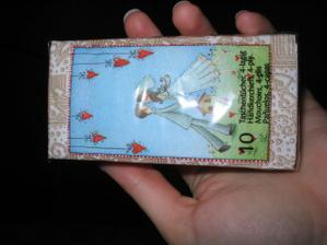 tyhle krásný kapesníčky mám od kamarádky Peťulky;-)