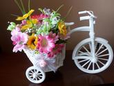 Nádherný bicykel aj s kosikom a kvetom :) 16 Eur