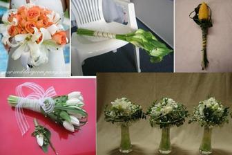vpravo dole kytky na stůl