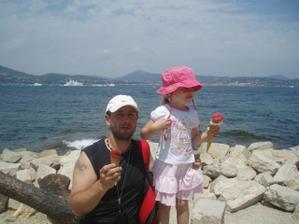 moje lásky v St. Tropez