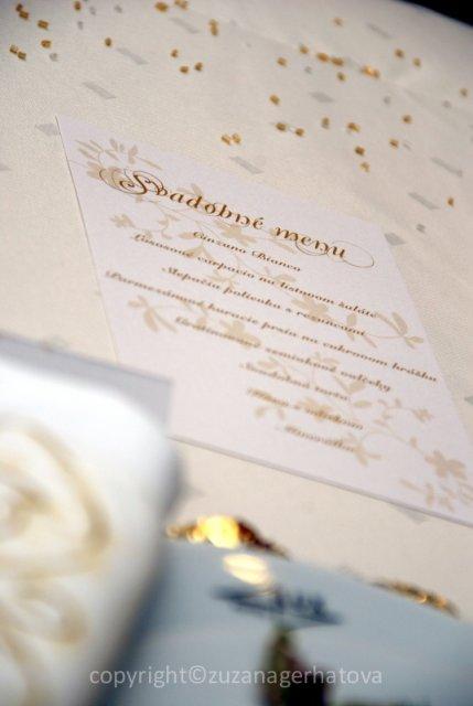 6.6.2009 Banská Bystrica - svadobné menu