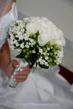 svadobná kytica krásna