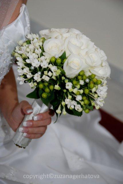 Veronika{{_AND_}}Radoslav Hazuchovci - svadobná kytica krásna