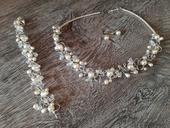 Sada šperkov na predaj - české perly,