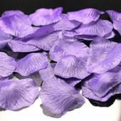 Plátky květů lila 384 ks,