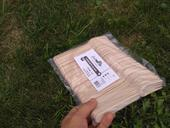Dřevěnné vidličky 100ks,