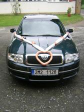 moje autíčko,ozdůbka-vlastní výroba