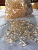 Dekorační akrylátové diamanty,