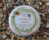 Přírodní zinková mast,