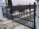 kovaná dvojkrídlová brána