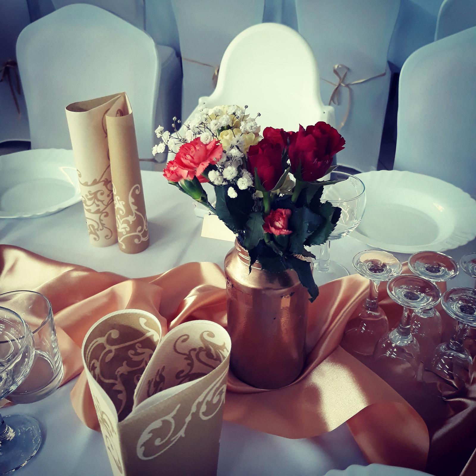 Svadobná výzdoba a plánovanie svadby na mieru - Obrázok č. 1
