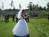 Svatební šaty - šněrovací, velikost 38 - 44, 40