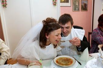 a ženich nevěstu