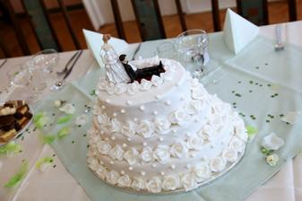 náš úžasný dort:)