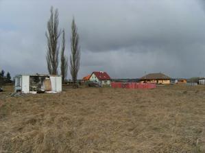 takhle jsme pozemek v roce 2008 kupovali