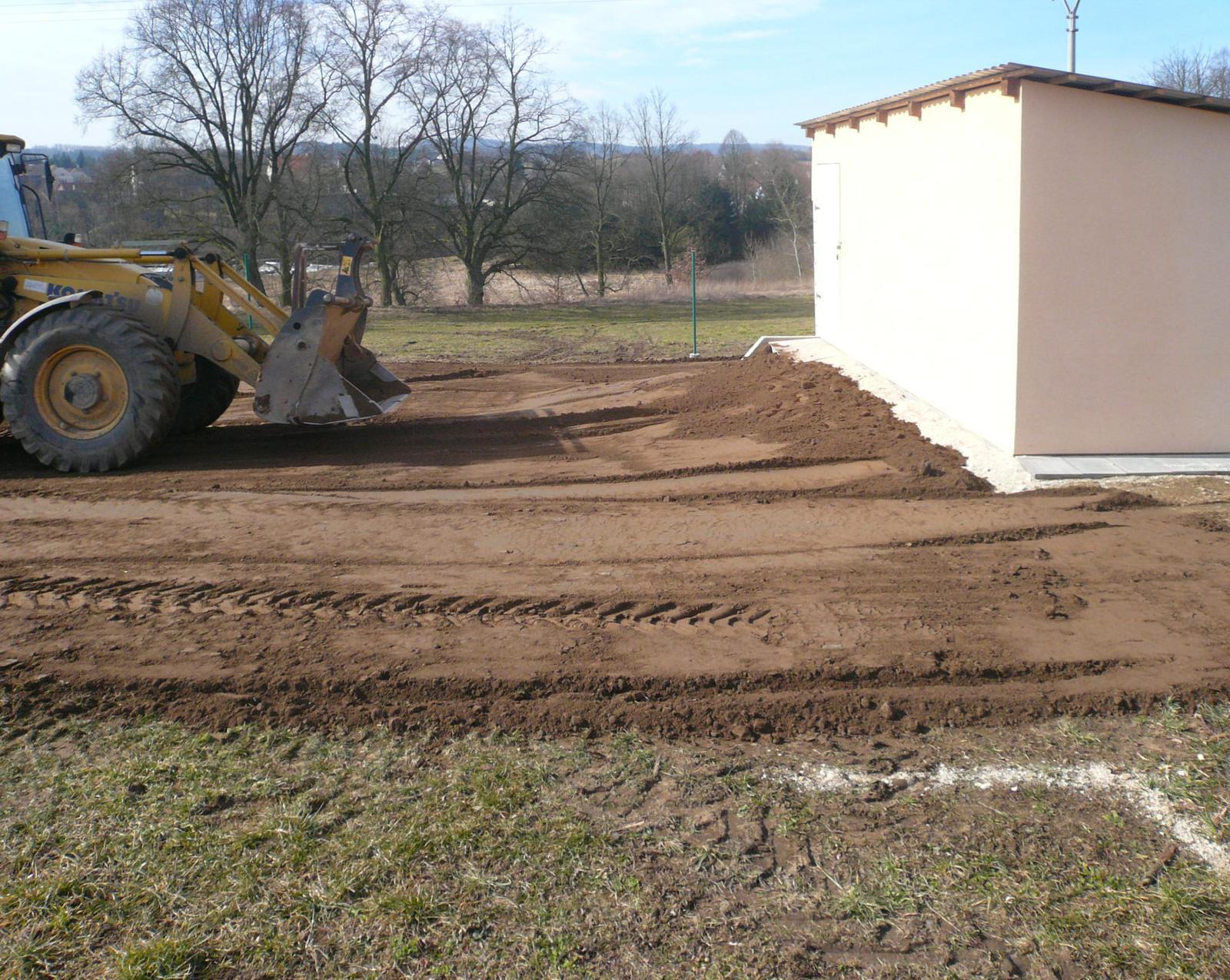 Pasivní dřevostavba na betonových patkách S. Hoštice - Obrázek č. 4