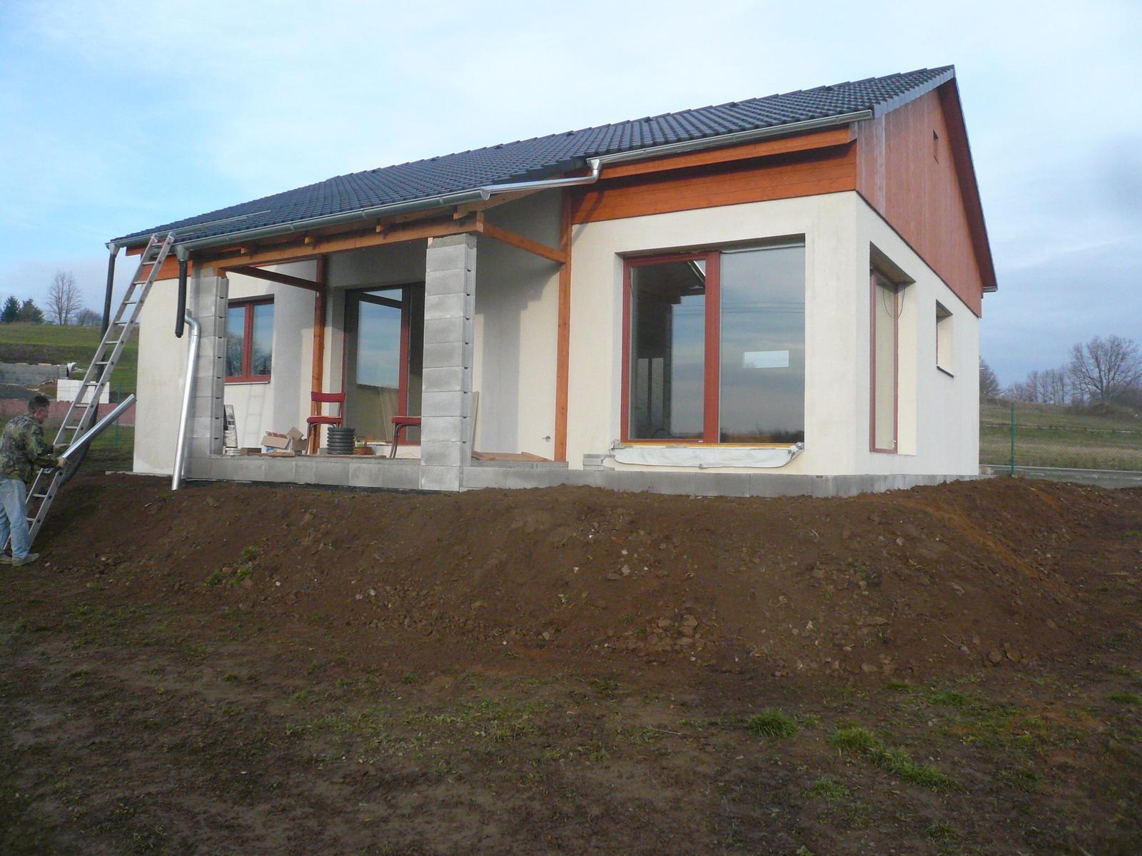 Pasivní dřevostavba na betonových patkách S. Hoštice - Obrázek č. 29