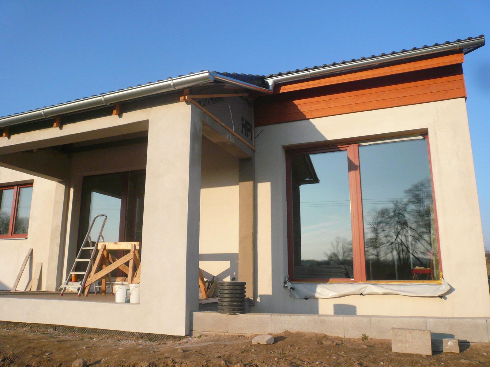 Pasivní dřevostavba na betonových patkách S. Hoštice - Obrázek č. 32
