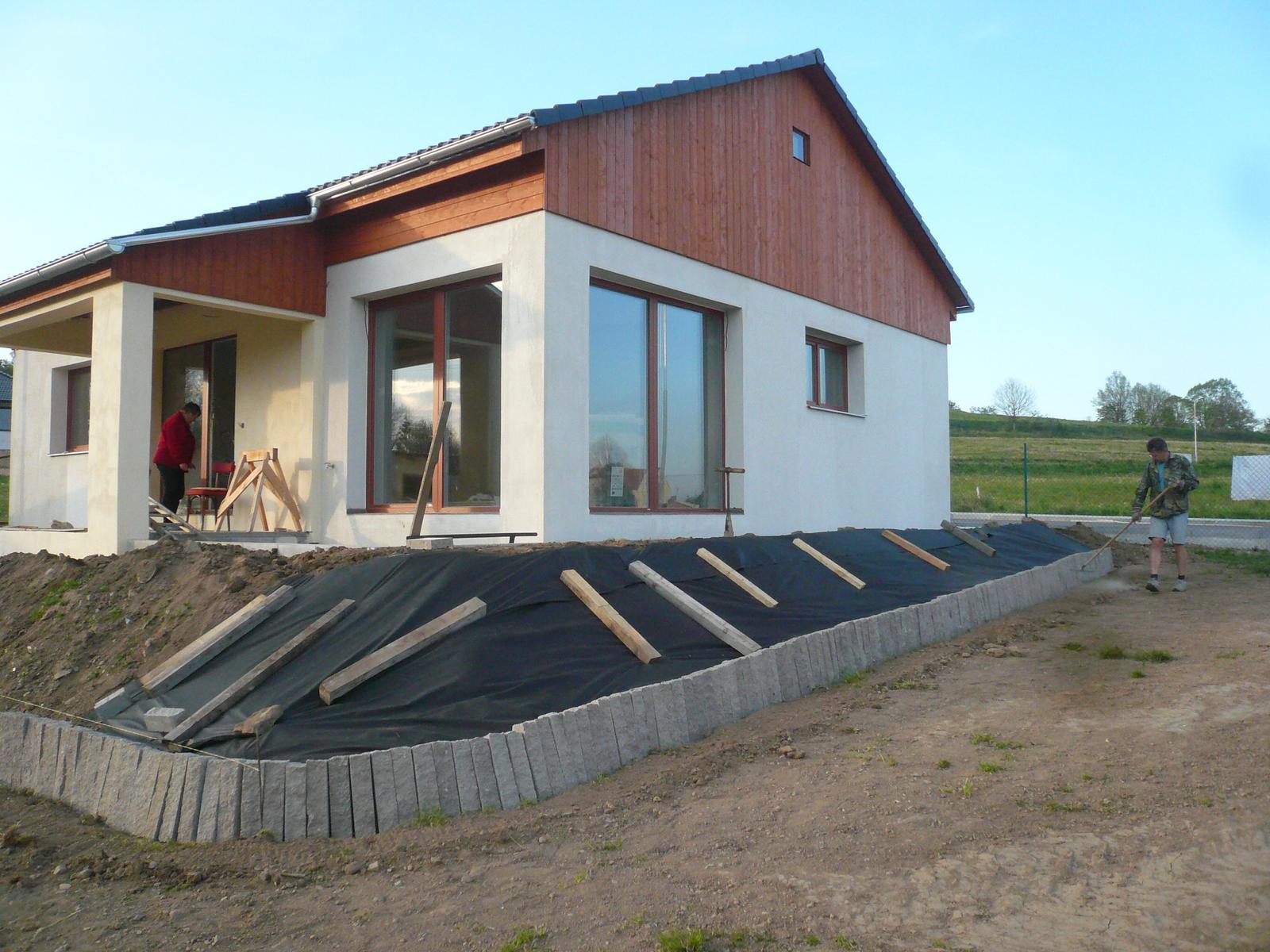 Pasivní dřevostavba na betonových patkách S. Hoštice - Obrázek č. 38