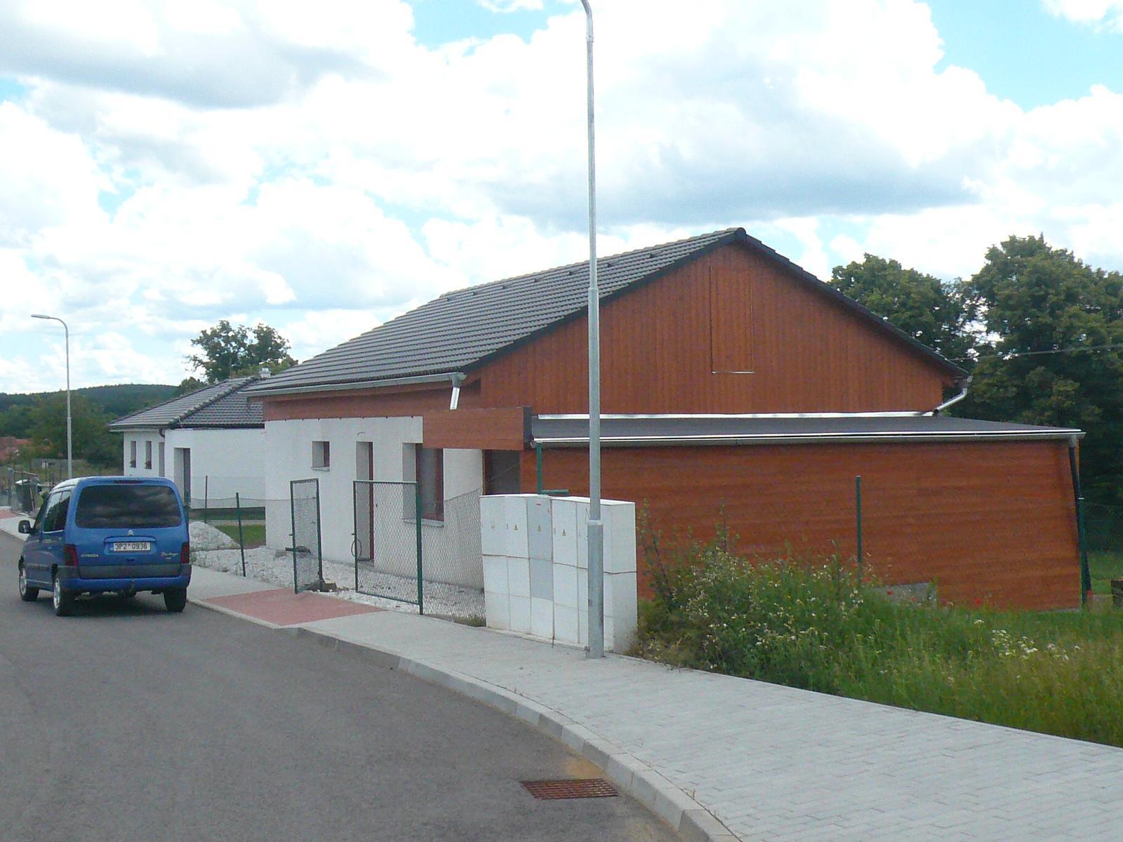 Pasivní dřevostavba na betonových patkách S. Hoštice - Obrázek č. 40