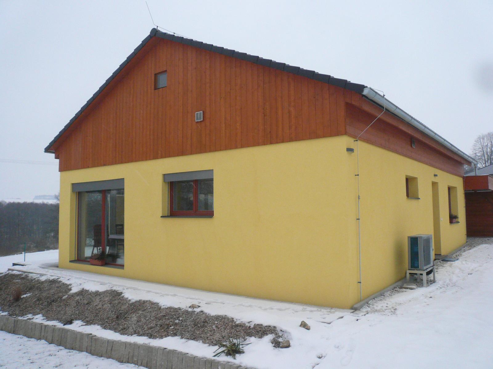 Pasivní dřevostavba na betonových patkách S. Hoštice - Obrázek č. 50