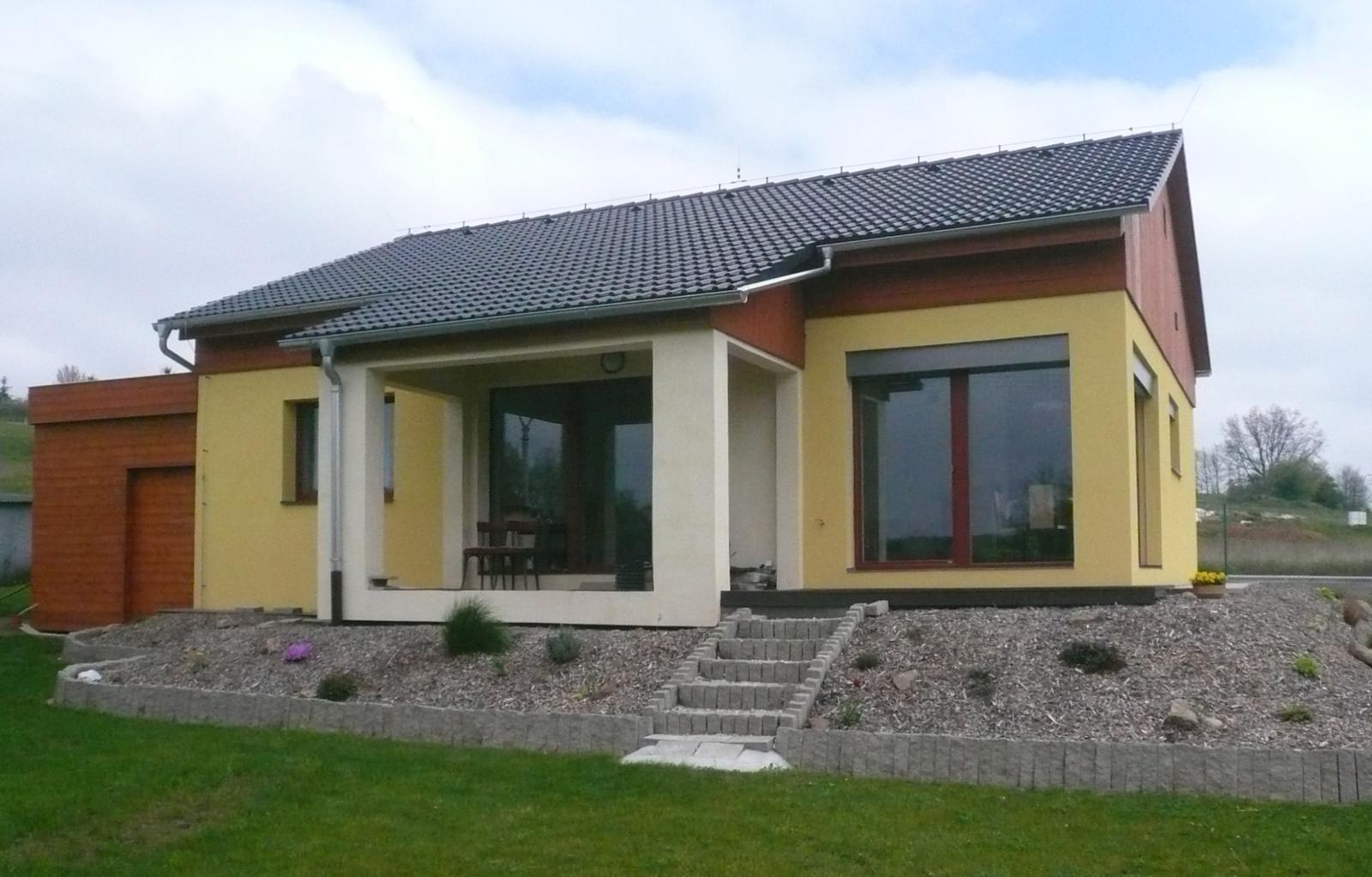Pasivní dřevostavba na betonových patkách S. Hoštice - Obrázek č. 51
