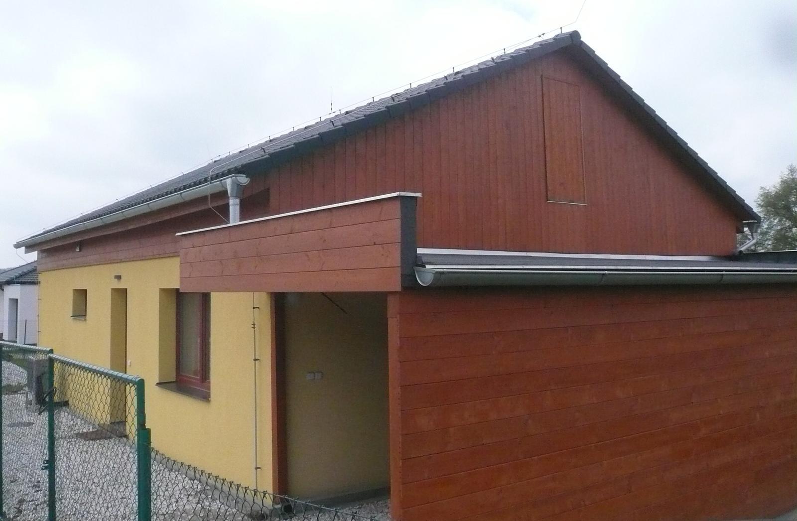 Pasivní dřevostavba na betonových patkách S. Hoštice - Obrázek č. 53