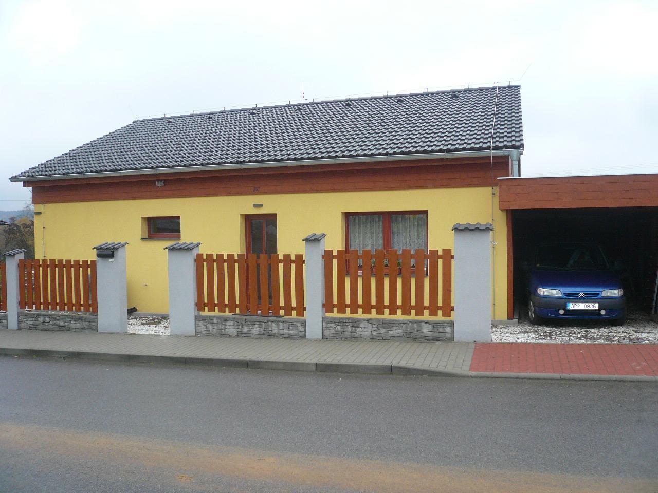 Pasivní dřevostavba na betonových patkách S. Hoštice - Obrázek č. 54