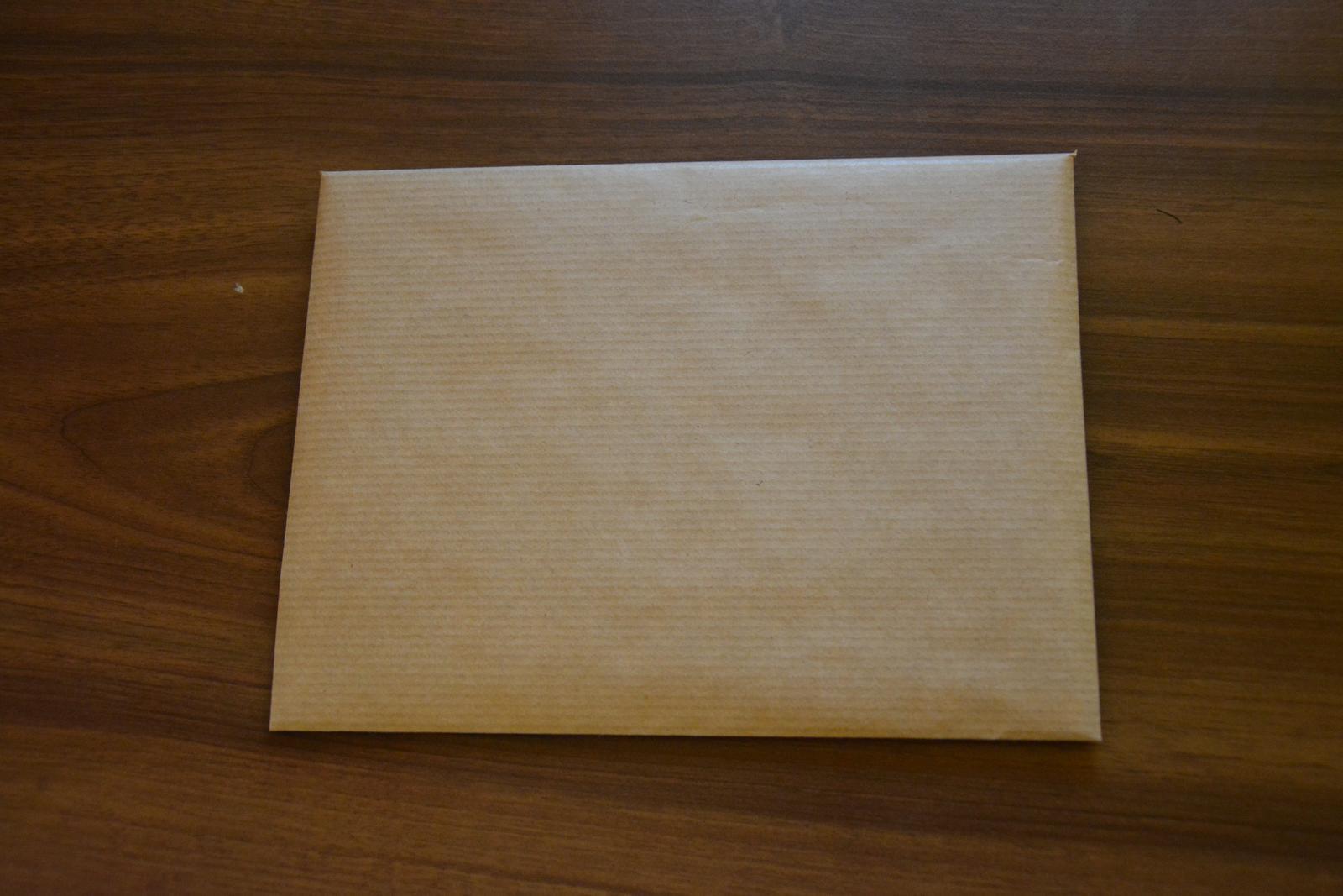 Obálky vlastní výroby - Obrázek č. 1