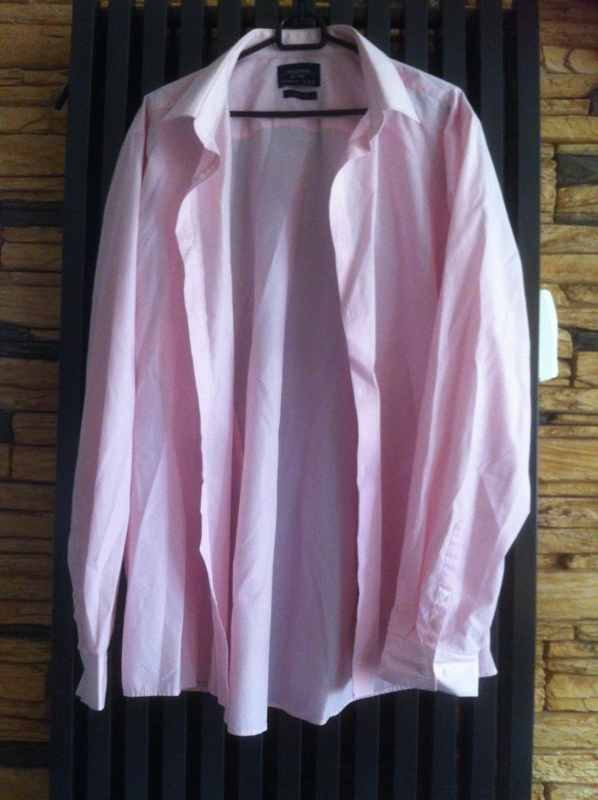Růžová košile F&F - Obrázek č. 1
