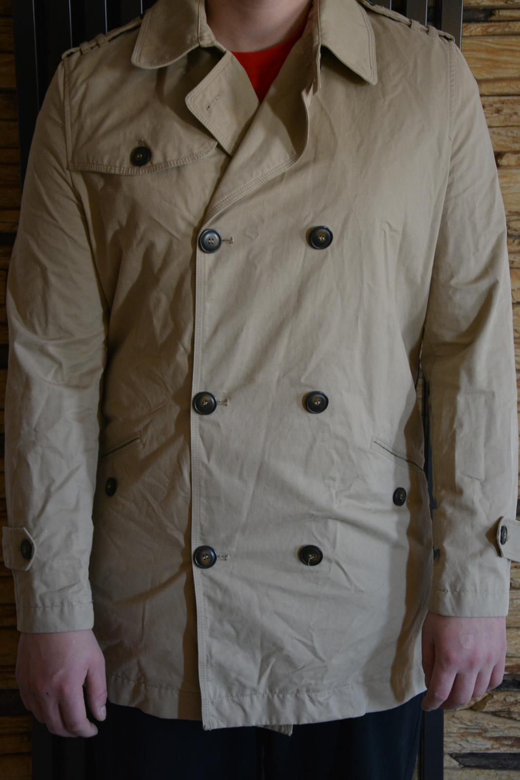 Béžový kabát Mango - Obrázek č. 1