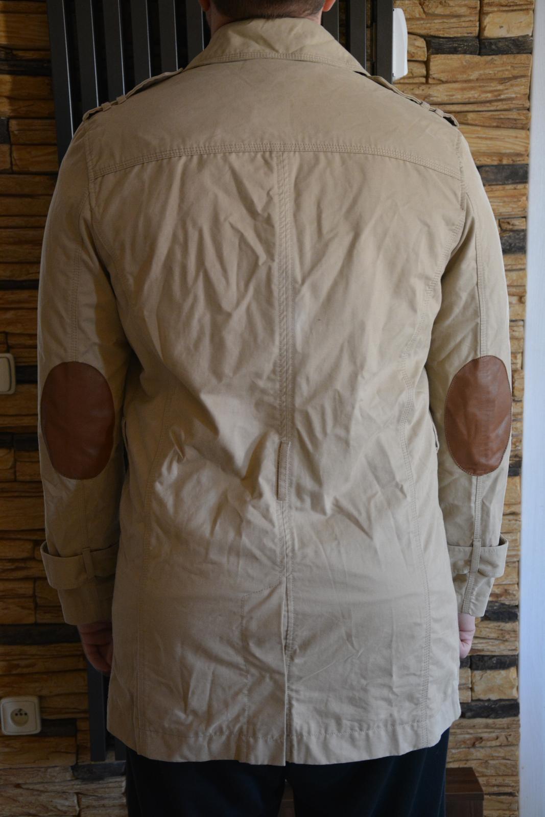 Béžový kabát Mango - Obrázek č. 2