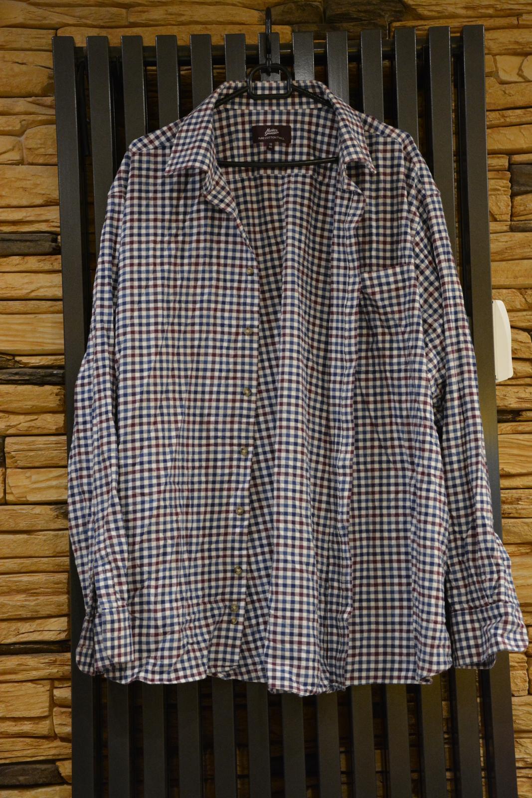 Kostkovaná košile Marks&Spencer - Obrázek č. 1